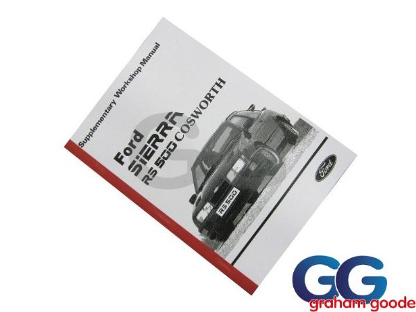 Ford Sierra RS500 Cosworth Supplementary Manual GGR1503
